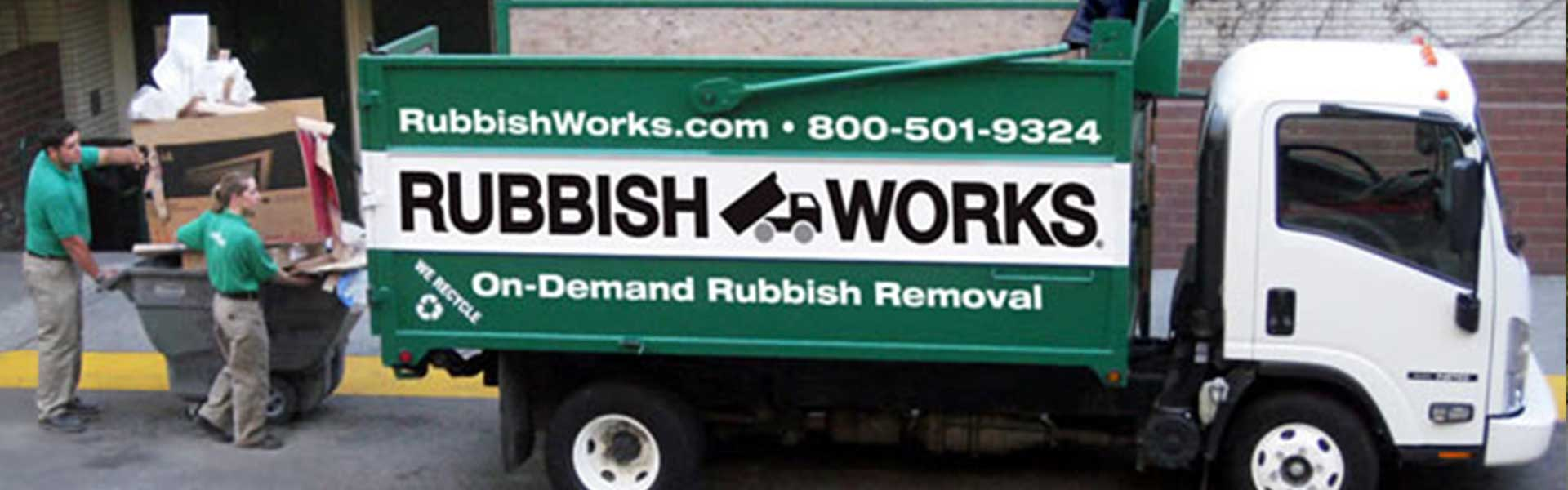 on demand junk removal services